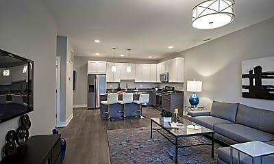 Living Room, Glen Ridge Place, 1