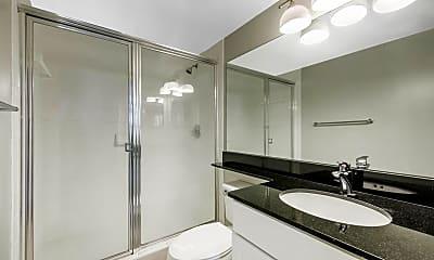 Bathroom, Gables Grand Plaza Apartments, 2