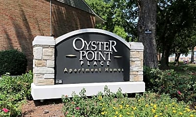 Community Signage, Oyster Point Place, 2