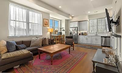 Living Room, 1356 S Bouvier St B, 0