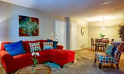 Living Room, Woodland Ridge, 1