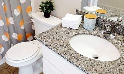 Bathroom, 11th Street Flats, 2
