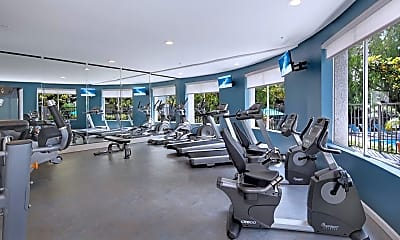 Fitness Weight Room, Canyon Crest, 1