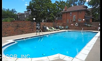 Pool, 1366 Garfield St, 1
