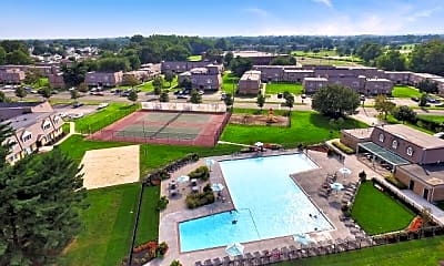 Pool, Franklin Commons, 1