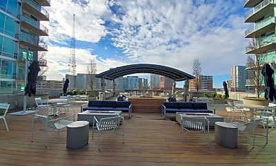 Patio / Deck, 2/2 Condo on 10th floor of Metropolis in Midtown, 2