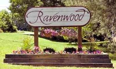 Community Signage, Ravenwood Apartments, 2