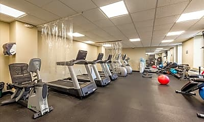 Fitness Weight Room, 100 W Broadway 2E, 2