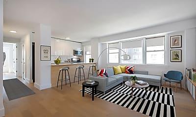 Living Room, 45 W 139th St 1-F, 1