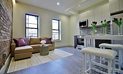 Living Room, 1159 St Johns Pl 4B, 1
