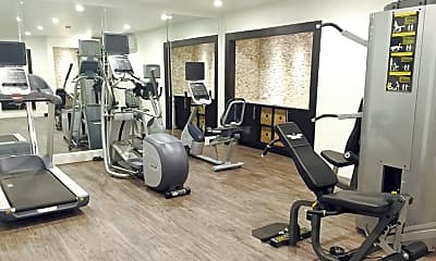 Fitness Weight Room, 2666 Marilee Ln, 2