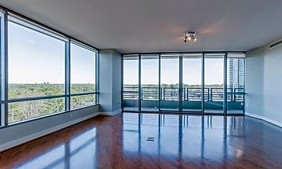 Living Room, 700 Park Regency Pl NE 1607, 1