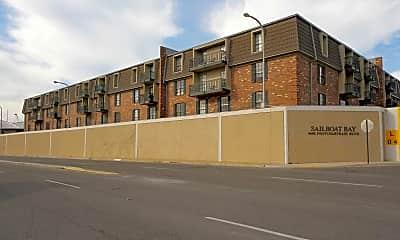 Building, Sailboat Bay Apartments, 1