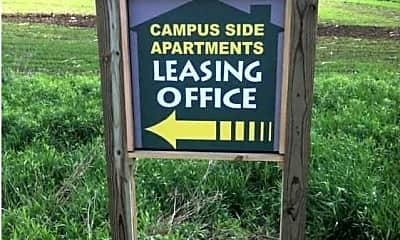 Community Signage, Campus Side Apartments, 0