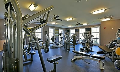 Fitness Weight Room, The Charles Bellingham, 1