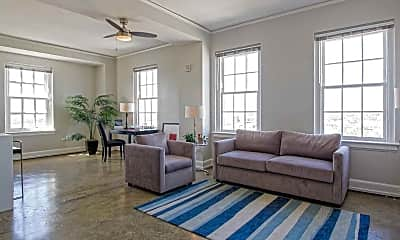 Living Room, Thomas Jefferson Tower, 0