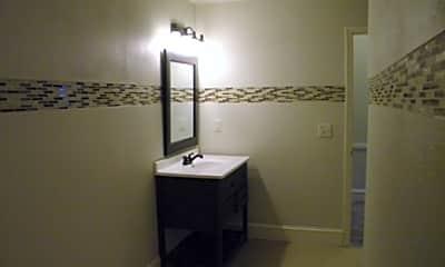 Bathroom, Cass Street Apartments, 2