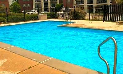 Pool, Hidden Oaks Apartments, 1