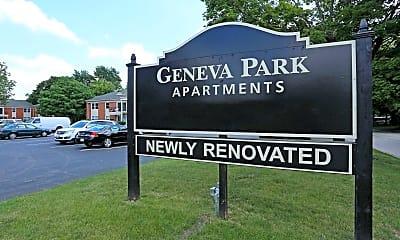 Community Signage, Geneva Park, 2