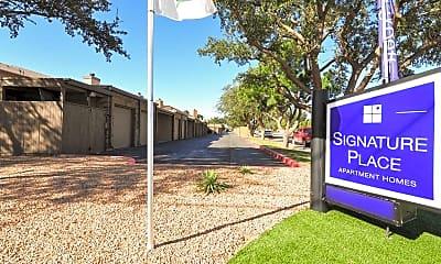 Community Signage, Signature Place, 2