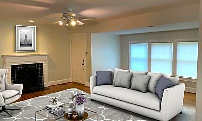 Living Room, 1609 Fulton Ave, 1