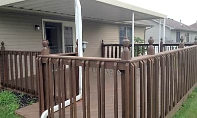 Patio / Deck, 124 Irongate Drive, 2