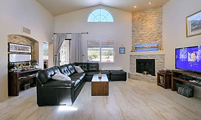 Living Room, 11360 N Palmetto Dunes Ave, 1
