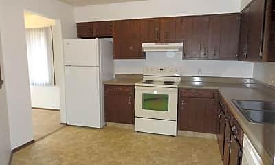 Kitchen, Fireside Village Apartments, 1