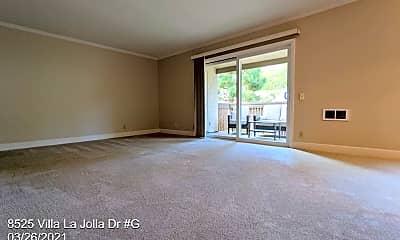 Living Room, 8525 Villa La Jolla Dr, 1