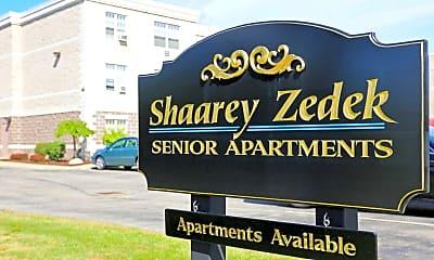 Community Signage, Shaarey Zedek Senior Living, 0