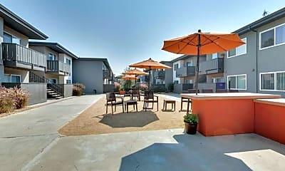 Courtyard, Boynton Garden Apartments, 0