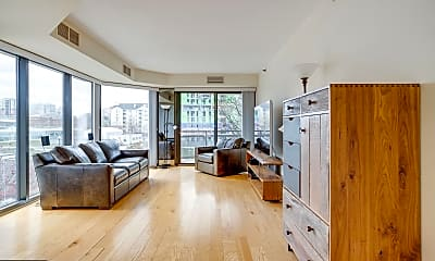 Living Room, 1530 Key Blvd 311, 1