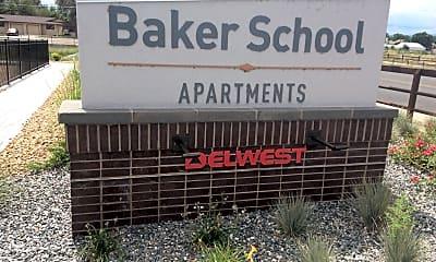 Baker School Apartments, 1