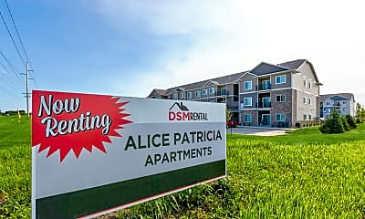 Community Signage, Alice Patricia Apartments, 2
