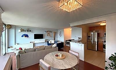 Living Room, 1225 Martha Custis Dr 1216, 1