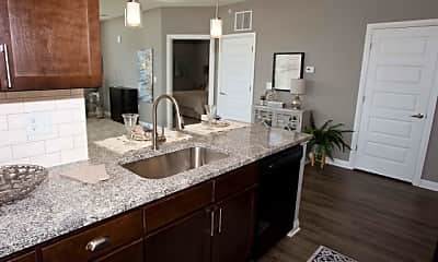 Kitchen, Tuller Flats, 2