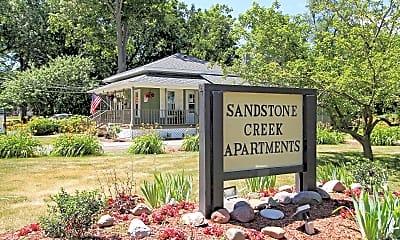 Community Signage, Sandstone Creek Apartments, 1