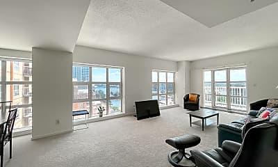 Living Room, 250 President St 702, 1