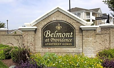 Community Signage, Belmont at Providence, 2