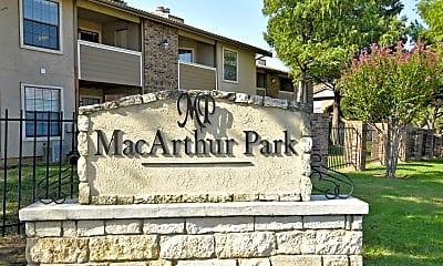 Community Signage, MacArthur Park, 2