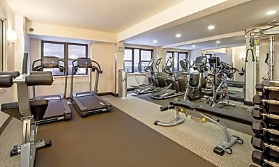 Fitness Weight Room, Renoir House, 2