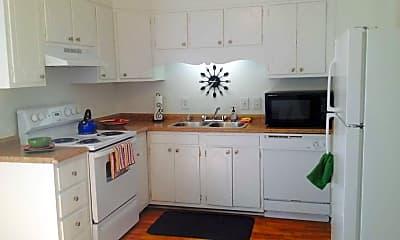 Kitchen, Bella Vista Townhome Apartments, 0