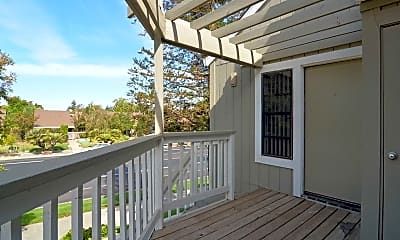 Patio / Deck, Eastlake Apartments and Townhomes, 2