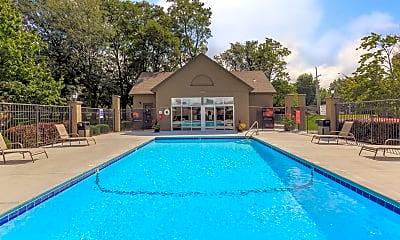 Pool, Deerfield Apartments, 0