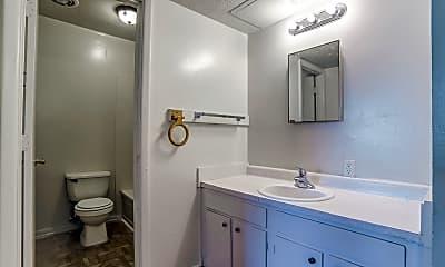 Bathroom, The Cedar Apartments, 2