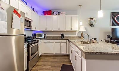 Kitchen, Archer Apartments, 1