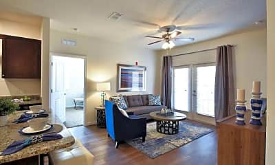 Living Room, The Oaks at Southlake Commons, 1