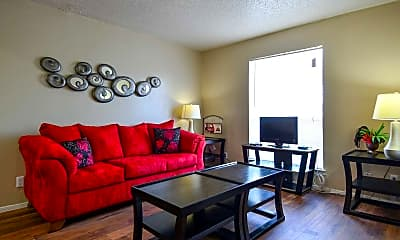 Living Room, Summerlyn Apartments, 1
