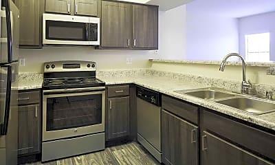Kitchen, Helix Apartments, 2