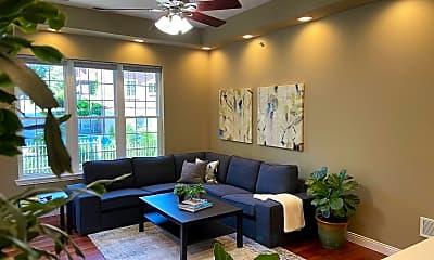 Living Room, 1407 Wilson Ave, 1